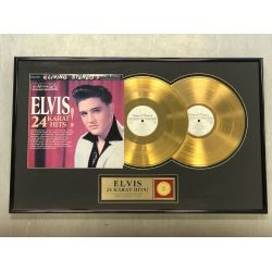 "Record D'or de 24 Karat - Elvis Presley ""24 KARAT HITS"""