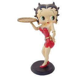 Betty Boop Waitress Red Dress 3ft