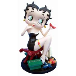 Betty Boop Fitting Shoes