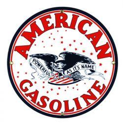 Plaque émaillée American Gasoline