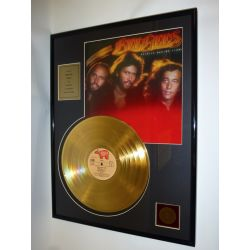 "Record D'or de 24 Karat - Bee Gees  ""Spirits Having Flown"""