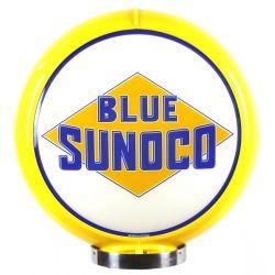 Globe de pompe à essence Blue Sunoco