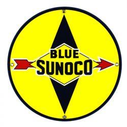 Plaque émaillée Blue Sunoco