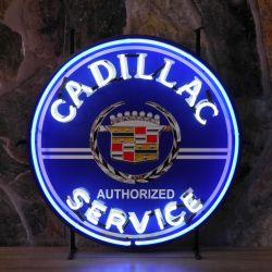 Cadillac Service neon
