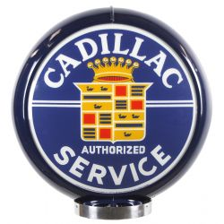 Globe de pompe à essence Cadillac Authorized Service