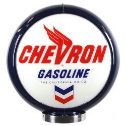 Globe de pompe à essence Chevron Gasoline