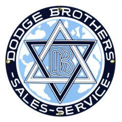 Plaque émaillée Dodge Brothers