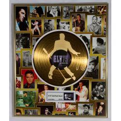 """Record D'or de 24 Karat - Elvis Presley """"75th birthday"""""""