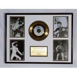 "Record D'or de 24 Karat - Elvis Presley ""Follow That Dream"""