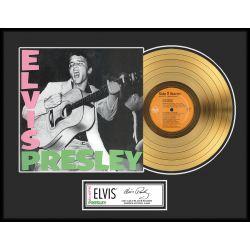 "Record D'or de 24 Karat - Elvis Presley ""Gold LP LE 1000"""