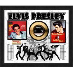 "Record D'or de 24 Karat - Elvis Presley ""Jailhouse Rock"""