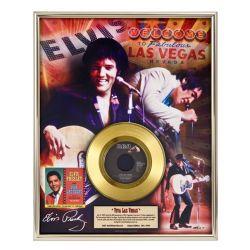 """Record D'or de 24 Karat - Elvis Presley """"Viva Las Vegas"""""""