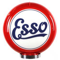 Globe de pompe à essence Esso