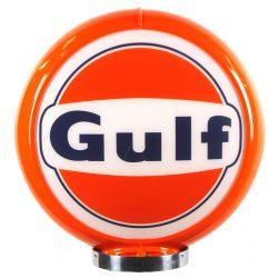 Globe de pompe à essence Gulf Logo
