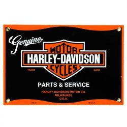 Plaque émaillée Harley Parts