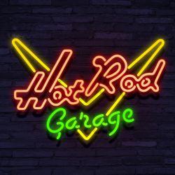 Neon HOT ROD GARAGE