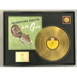 "Record D'or de 24 Karat - MARVIN GAYE  ""IN THE GROOVE"""
