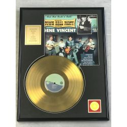 "Record D'or de 24 Karat - GENE VINCENT ""TOWN HALL PARTY"""