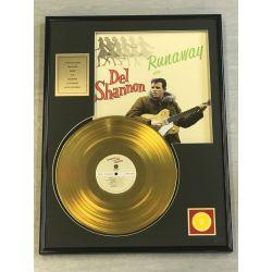 """Record D'or de 24 Karat - DEL SHANNON """"RUNAWAY"""""""
