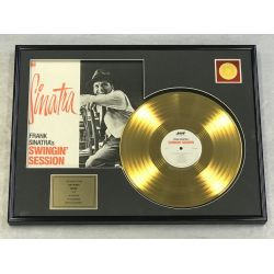 "Record D'or de 24 Karat - FRANK SINATRA ""SWINGIN' SESSION"""