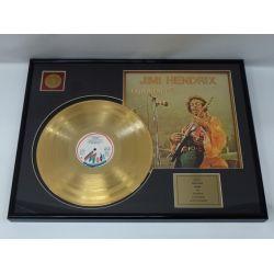 "Record D'or de 24 Karat - Jimi Hendrix ""Experience"""
