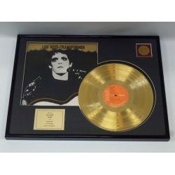 """Record D'or de 24 Karat - Lou Reed  """"Transformer"""""""