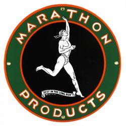 Plaque émaillée Marathon Products