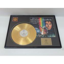 "Record D'or de 24 Karat - Michael Jackson ""Smooth Criminal"""