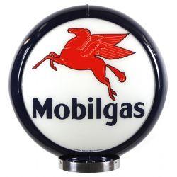 Globe de pompe à essence Mobilgas