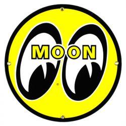 Plaque émaillée Moon