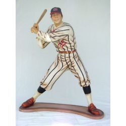 Statue Baseball Player Lifesize
