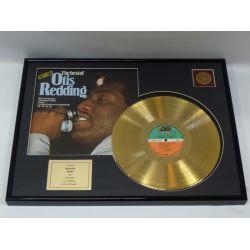 """Record D'or de 24 Karat - Otis Redding """"The Best Of Otis Redding"""""""