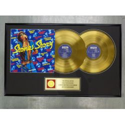 "Record D'or de 24 Karat  - THE ROLLING STONES ""STONE STORY"""