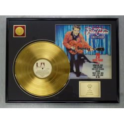 "Record D'or de 24 Karat - EDDIE COCHRAN ""20 GOLDEN TRACKS"""