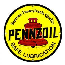 Plaque émaillée Pennzoil