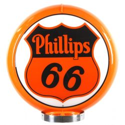 Globe de pompe à essence Phillips 66