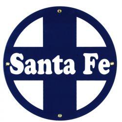 Plaque émaillée Santa Fe