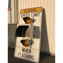 Tableau de limitation de vitesse d'origine