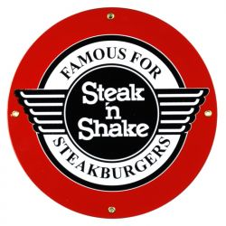 Plaque émaillée Steak 'n Shake