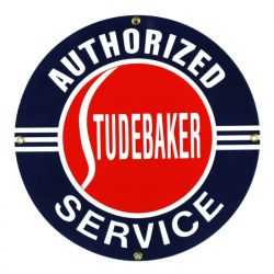 Plaque émaillée Studebaker