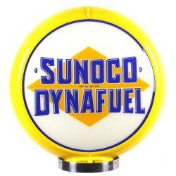 Globe de pompe à essence Sunoco Dynafuel
