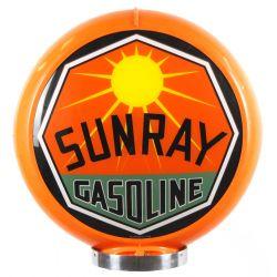 Globe de pompe à essence Sunray Gasoline
