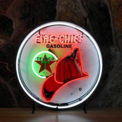 Texaco Firechief neon
