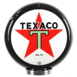 Globe de pompe à essence Texaco