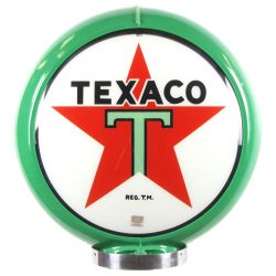Globe de pompe à essence Texaco Green