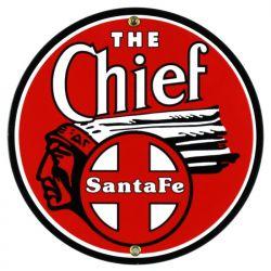 Plaque émaillée The Chief