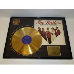 "Record D'or de 24 Karat - The Platters ""The Great Pretender"""