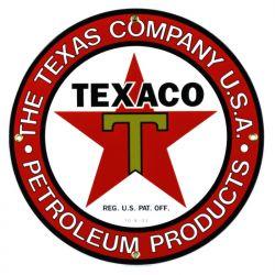 Plaque émaillée The Texas Company