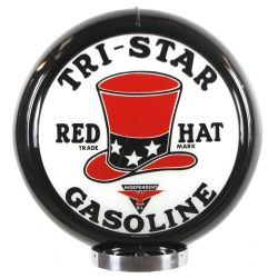 Globe de pompe à essence Tri-Star Gasoline