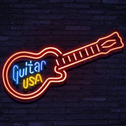 Neon Guitar USA